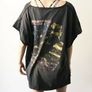90s Vintage Mike Tyson Graphic Rap Tee Shirt Faded